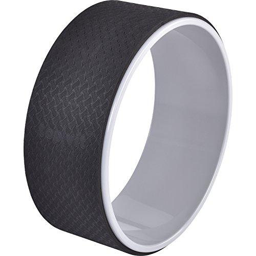 top vit Yoga Wheel - Yoga.Wheel zur Verbesserung der Beweglichkeit und der Flexibilität (Graphit)