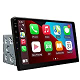 Upgrade Version-Octa-core 4GB+64GB Double Din Car Stereo, Eonon 10.1 Inch Android 10 Car Radio Bluetooth 5.0 Head Unit GPS Navigation Built-in CarPlay& DSP Supports Android Auto/Fast Boot- GA2189