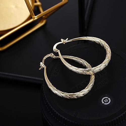 jieGREAT Women Gold Stud Dangle Earings Fashion Classic Dangle Earring