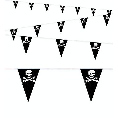 WIDMANN 03324 - Banderines Piratas de PVC