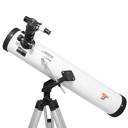 TS Optics Télescope Reflecteur 76/700 AZ-2,...