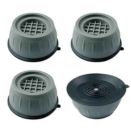4 Stück Waschmaschine Schwingungsdämpfer, Waschmaschinen Füsse Gummi, Waschmaschine Antivibrationsmatte, Anti-RutschAnti Vibration Pads, Anti Vibration Waschmaschine, Rauschen unterdrücken