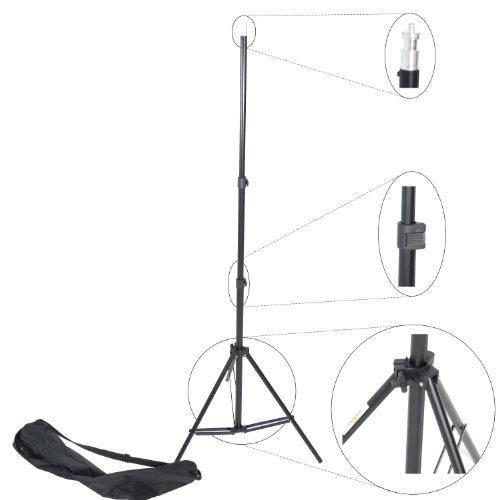 DYNASUN Lampenstativ W803 220cm Profi Qualität Stativ für Blitze/Lampen + Tasche