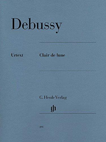Clair de Lune (Suite Bergamasque). Klavier zu zwei Händen