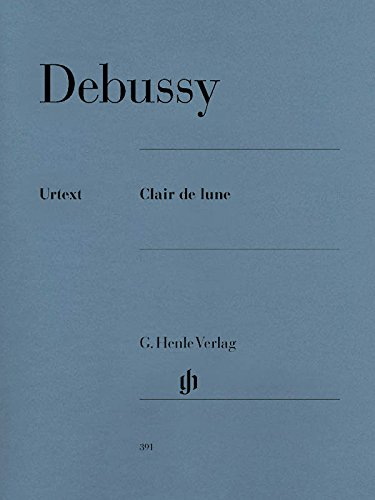 Clair de Lune (Suite Bergamasque). Klavier