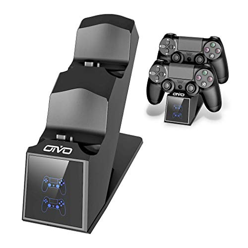 PS4 Controller Charger, PS4 Charger USB Charging Dock Station for...