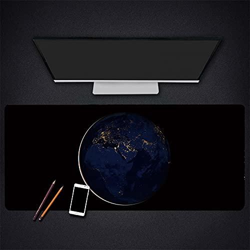 Alfombrilla para ratón para Juegos Alfombrilla para Ordenador portátil para Oficina Alfombrilla para Teclado para Juegos Escritorio, Superficie Impermeable de Goma antideslizante-700x300x3mm