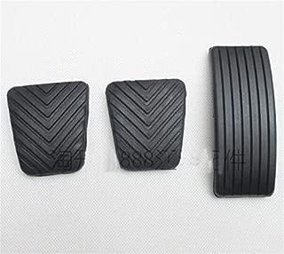 3Pcs A Set Clutch Pedal Brake Pedal Accelerator Pedal Rubber Mattress For Jac Refine M5 Jac S2S3S5 Pedals Non-Slip Mat (3Pcs Jac S2S3S5)