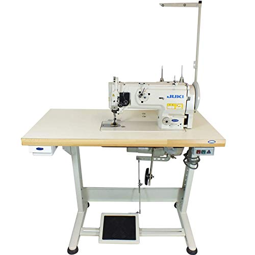 Juki DNU-1541S Industrial Sewing w/Safety Mechanism DNU 1541 Walking Foot Needle Feed,servo Motor,Table,lamp. DIY.