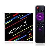MXQ Pro Max 2020 Upgraded 5G Version Android 10.0 TV Box RAM 2GB DDR3 16GB ROM Quad-Core 4K Ultra HD/H.265 / Dual WiFi 2.4G + 5G / HDMI/3D 100M Ethernet Bluetooth 4.1 Android TV Video Play Box