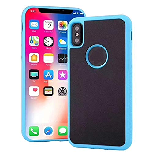 Adecuado para iPhone12 11 Pro Max X Xs Max Xr 6 7 8 Plus estuche antigravedad para teléfono móvil, estuche para teléfono móvil Pluto antigravedad nano succión