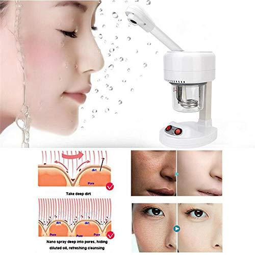 Heißnebel-Gesichtsdampfer, Ionensauna SPA-Sprühgerät zur Befeuchtung von Nebeln, tragbares Luftbefeuchtungsgerät zur Tiefenreinigung von Poren, Mitesserentfernung