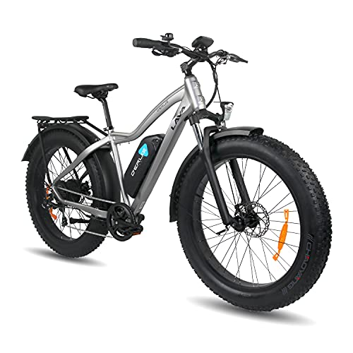 """DERUIZ LAVA 26"""" Vélo électrique Fat Bike vélo..."""