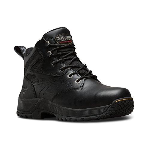 Dr. Martens DM Docs Torness ST S1P Steel Toe Cap Black Leather Safety Boots...