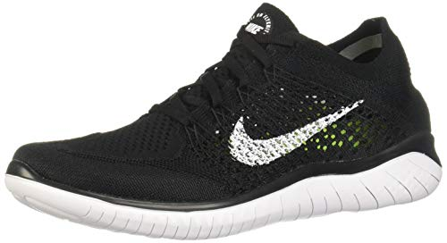 differently retail prices watch Nike Free RN Flyknit 2018 Black/White 942838-001 Men's Running Shoes (9 D  US)