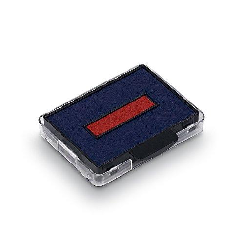 Trodat 6-50/2DB Ersatzkissen Swop Pad für 5430 und 5435 Inh.2, blau/rot