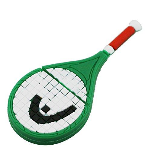 128GB modello pen drive usb verde racchetta da tennis di 2,0 chiavetta memory card - dispositivo di memorizzazione pendrive disco usb di penna usb flash card u disco usb