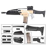 WORKER Adaptador F10555 XM8 S Style (negro) para Nerf N-Strike Stryfe Blaster