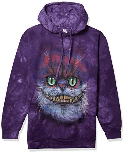 The Mountain Big Face Cheshire Cat Sweat à Capuche pour Homme - Violet - XX-Large