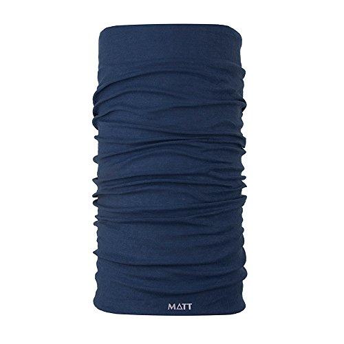 Mat 5895 – 620 hals en hoofddoek, unisex volwassenen, petrol, eenheidsmaat