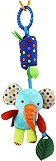Infant Toys Mobile Baby Plush Toy Bed Wind Chimes Rattles Bell Toy Stroller for Newborn, Elephant