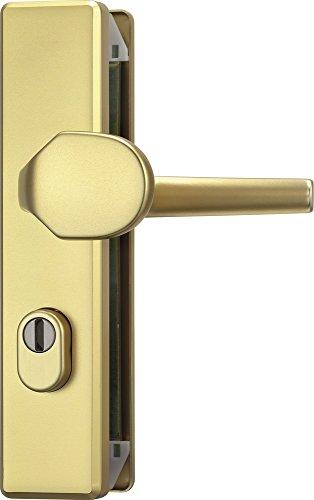 ABUS Tür-Schutzbeschlag KLZS714 F3 mit Zylinderschutz eckig, 08426