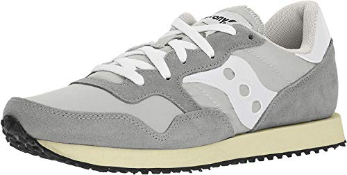 Saucony DXN Trainer Vintage, Zapatillas de Cross para Hombre, Gris (Grey/White 4), 42 EU