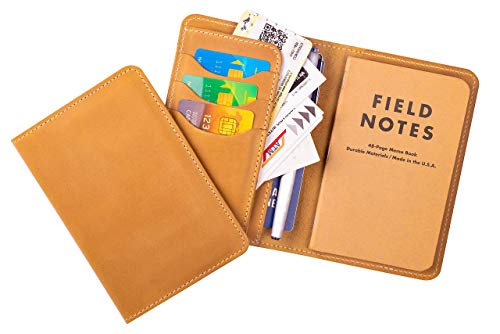 Leather Field Notes wallet lilac leather notepad wallet Notebook organiser with pen holder for 3.5 x 5.5refilable notebok