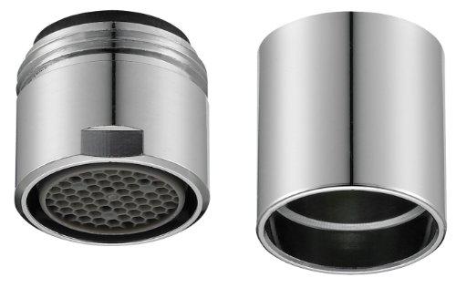 Perlator 11001198 Wassersparstrahler für Designarmatur, M16/18 , verchromt