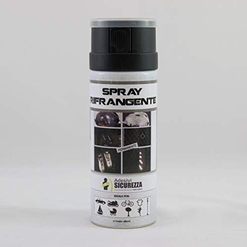 StickersLab - Vernice Spray catarifrangente permanente silver reflective ml 400 SALVAVITA