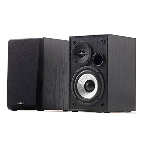 Edifier R980T 4' Active Bookshelf Speakers - 2.0 Computer Speaker - Powered...