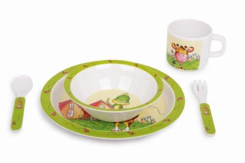 Small Foot Company - 9925 - Jeu D'imitation - Cuisine - Vaisselle Pour Enfant - Tobi Et Lilly