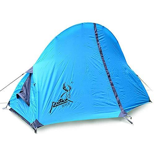 Eenpersoons Tent Bed Lichtgewicht Waterdicht Festival Dome 1 Man Camping Tent - Veranda Gebied, Grond, Waterbestendig Backpacking Tent, Gemakkelijk Pitch Festival Tent