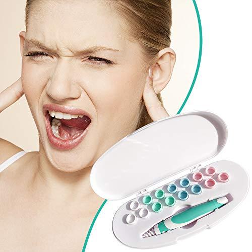Nettoyant Oreille,Cire d'oreille remover - Spirale Ear Wax - Outil pour enlever la cire d'oreille. Ear Cleaner System * 1avec 16 embouts lavables.