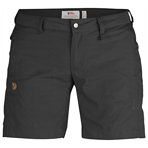 Fjällräven Damen Abisko Shade W Shorts, grau (Dark Grey), 38