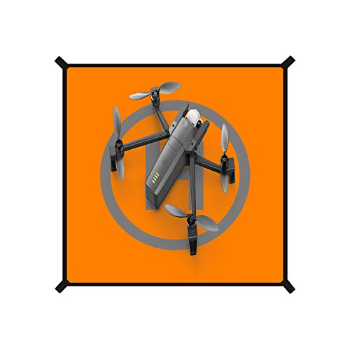Ewinda Drohnen-Landeplatz, tragbar, faltbar, universal, wasserdicht, reflektierend, 55 cm Länge