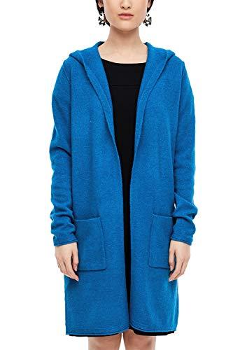 s.Oliver Damen 14.912.64.2547 Strickjacke, Blau (royal Blue 5525), (Herstellergröße:40)