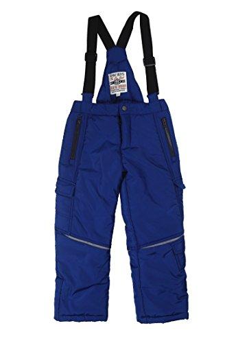 Kanz Kinder-Jungen Schneehose Winter Items blau, Gr. 146 (146)