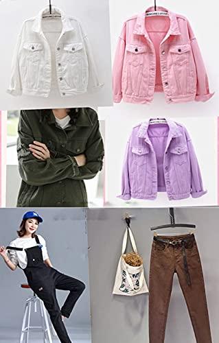 MUYUNXI 100% Algodón Tela Vaquera por Metros para Coser Ropa Jeans Cojines Falda Chaqueta 150 Cm De Ancho Vendido por Metro(Color:Gris Oscuro)