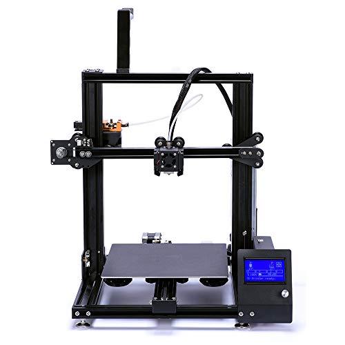 BESTSUGER Imprimante 3D, Volume de Construction de l'imprimante 3D 230 * 230 * 260mm, Bricolage en Aluminium pour Utilisation à Domicile