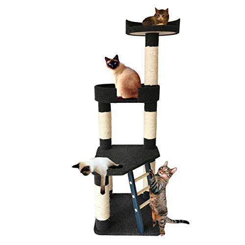 Rascador Para Gato Arbol  marca MascotasyAccesoriosMX