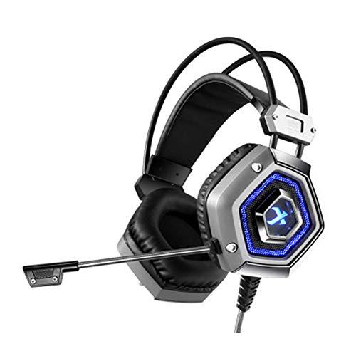 KOKOF Kabelloses Gaming-Headset ZHATIAN Casque de jeu Pour ordinateur, Casque e-Sport monté sur la tête,