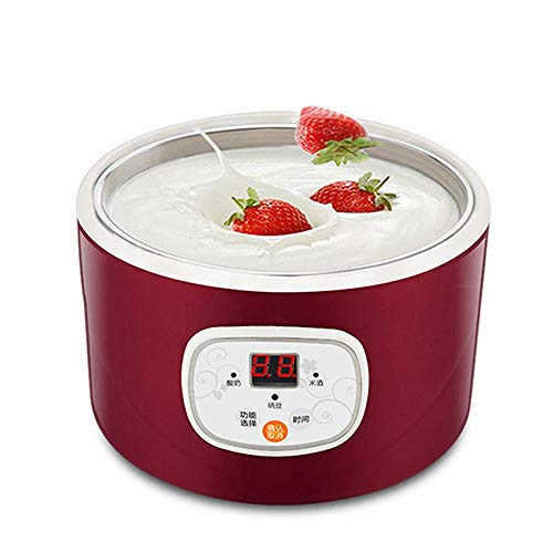 New Automatic Electric Yogurt Maker Multifunction Stainless Steel Container Natto Rice Wine Machine ...