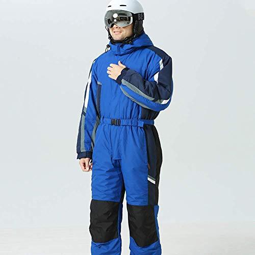 Nerioya Heren Ski Suit, Waterdichte gewatteerde Snowboard Jack, Ski Jumpsuit Outdoor Sneeuw Mountain Ski Suit Winter Warm