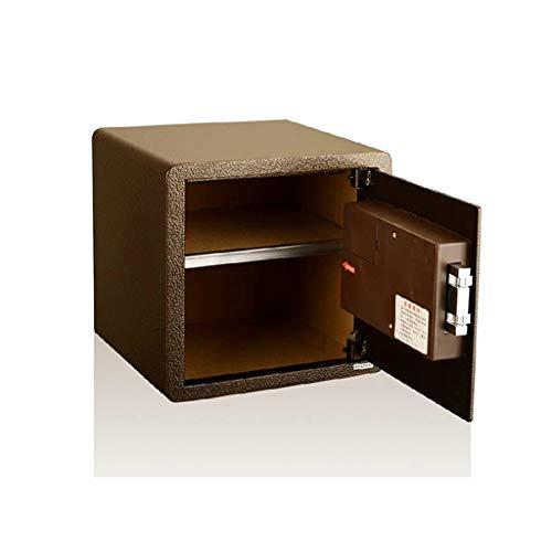 Casseforti Schermo LCD sicuro Installazione fissa sicura elettronica Bronzo 35 * 25 * 30cm Safe