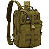 DOUNTO Tactical Backpack Medium EDC DayPack Military Molle Backpacks Bag Outdoor Rucksack for...