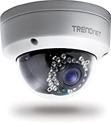 TRENDnet TV-IP311PI Indoor/Outdoor Dome PoE IP Kamera (mit 3 Megapixel Full 1080p)