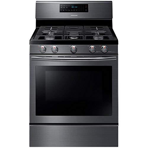 Samsung Appliance NX58J5600SG 30' Freestanding Gas Range with 5.8 cu....
