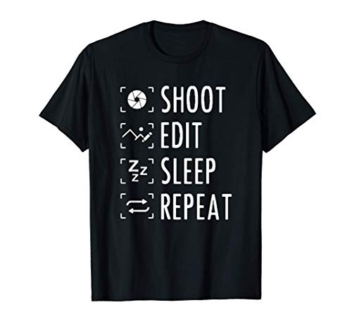 Fotógrafo Fotografía Cámara Regalo Camiseta