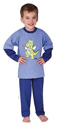 Wörner Dragon en tissu éponge pour bébé, Pyjama 2 pièces en jersey., 116 cm